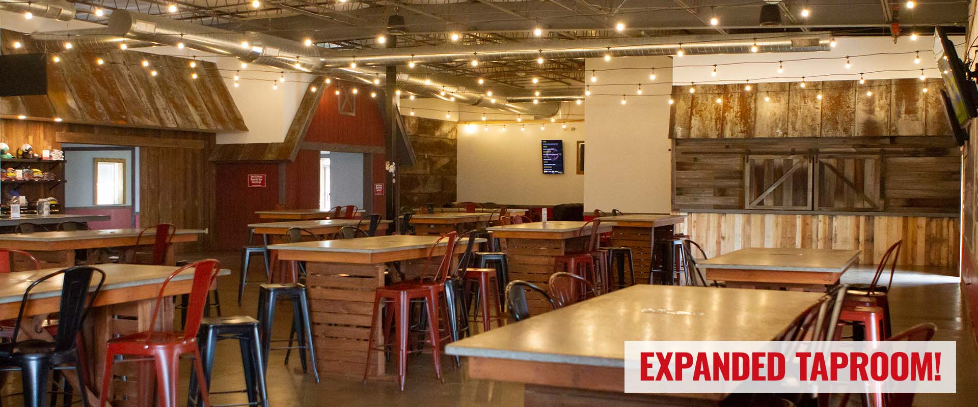 Expanded Taproom Slide