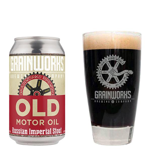 Old Motor Oil - Grainworks Brewing Company