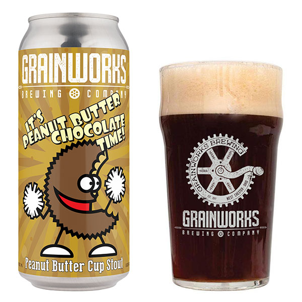 It's Peanut Butter Chocolate Time! - Grainworks Brewing Company